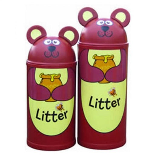 Animal Kingdom Bear Litter Bin Techni Pros