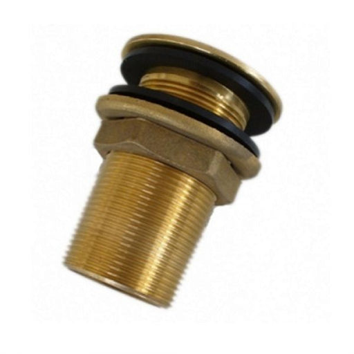 "2"" Male Drain Outlet - Brass Techni-Pros - techni-pros"
