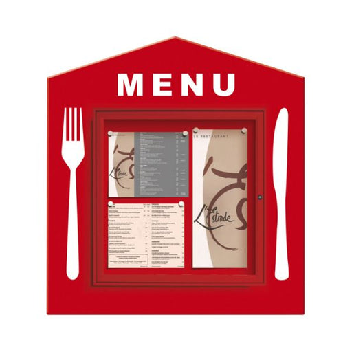 Square Menu Poster Case - 6x A4 Techni-Pros - techni-pros