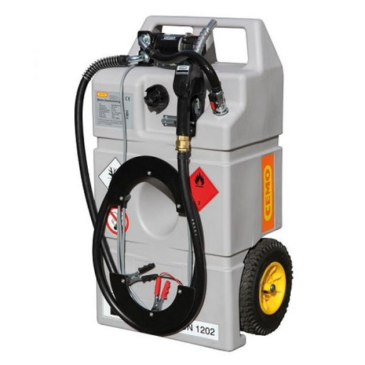 Cemo 100 Litre Diesel Trolley with 12v Pump Techni-Pros - techni-pros
