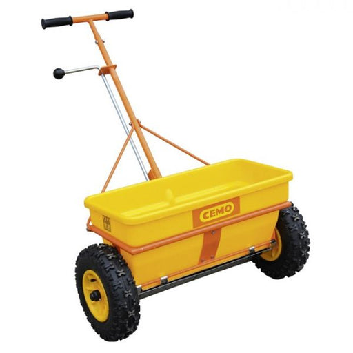 Cemo KS 35-E Professional Grade Grit Salt Spreader Techni-Pros - techni-pros