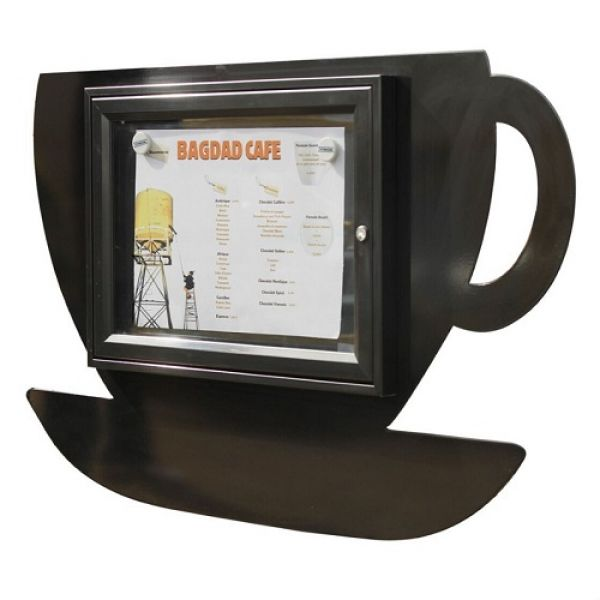Coffee Cup Poster Case - 2x A4 Techni-Pros - techni-pros