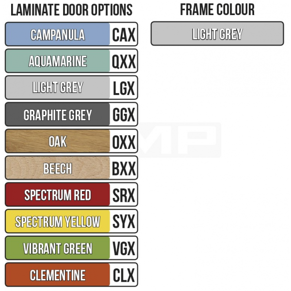 Laminate Door Locker - Various Options Techni-Pros - techni-pros