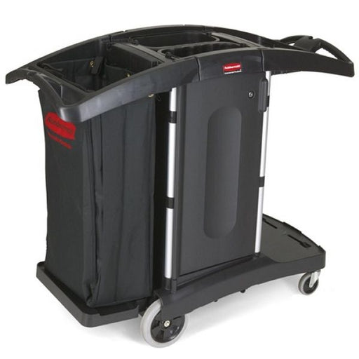 Rubbermaid Compact Folding Turndown Housekeeping Cart Techni-Pros - techni-pros
