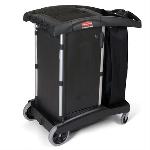 Rubbermaid Compact Turndown Housekeeping Cart Techni-Pros - techni-pros
