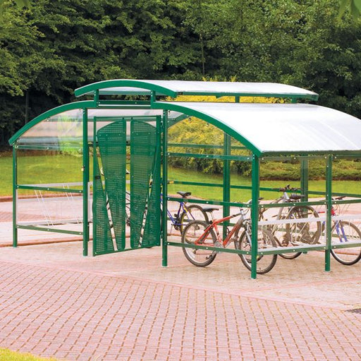 Compound Cycle Shelter with Canopy Techni-Pros - techni-pros