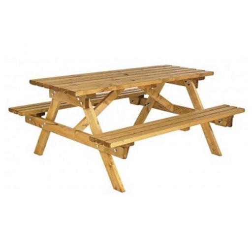 Cotswold 6 Seater Picnic Bench Techni-Pros - techni-pros