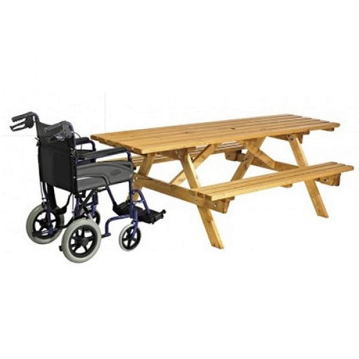 Cotswold 8 Seater Wheelchair Friendly Picnic Bench Techni-Pros - techni-pros