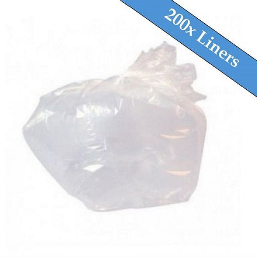 "Light Duty Clear Refuse Sacks 18"" x 29"" x 39""- 200 Liners Per Box Techni-Pros - techni-pros"