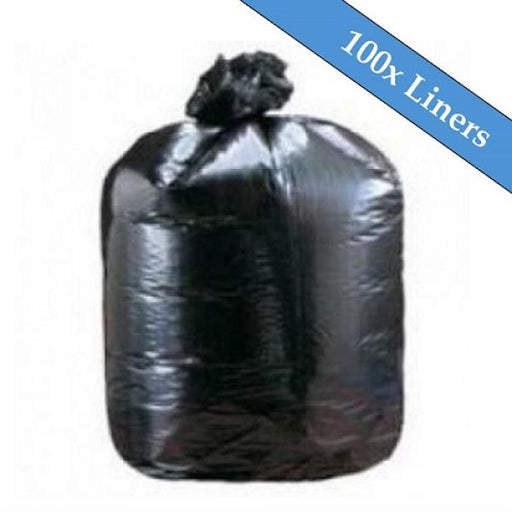 "Heavy Duty Black Compactor Sacks 22"" x 33"" x 47""- 100 Liners Per Box Techni-Pros - techni-pros"