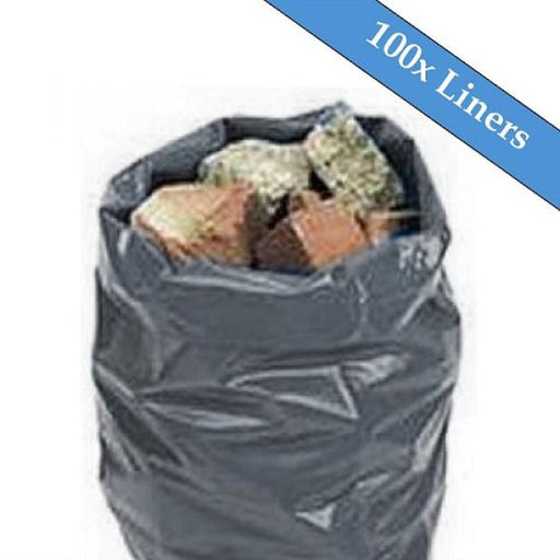 "Dark Grey Rubble Sack 20"" x 30"" 300 Gauge - 100 Liners Per Box Techni-Pros - techni-pros"