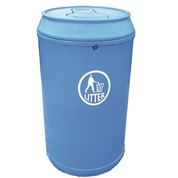 Drinks Can Litter Bin - 90 Litre Techni-Pros - techni-pros