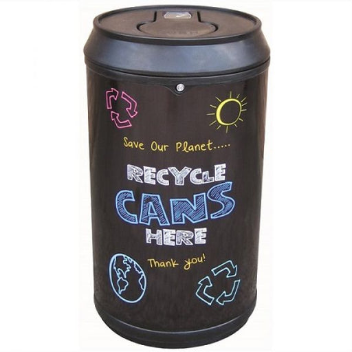 Drinks Can Recycling Bin - 90 Litre Techni-Pros - techni-pros