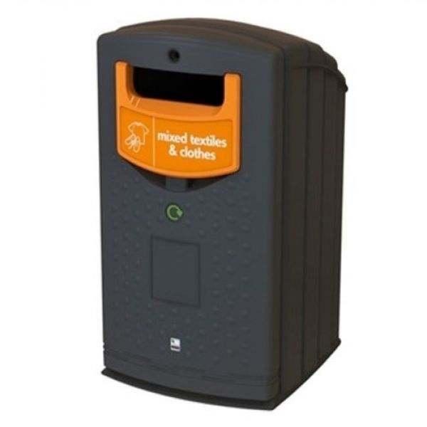 Envirobank Recycling Bin with Open Aperture - 240 Litre Techni-Pros - techni-pros