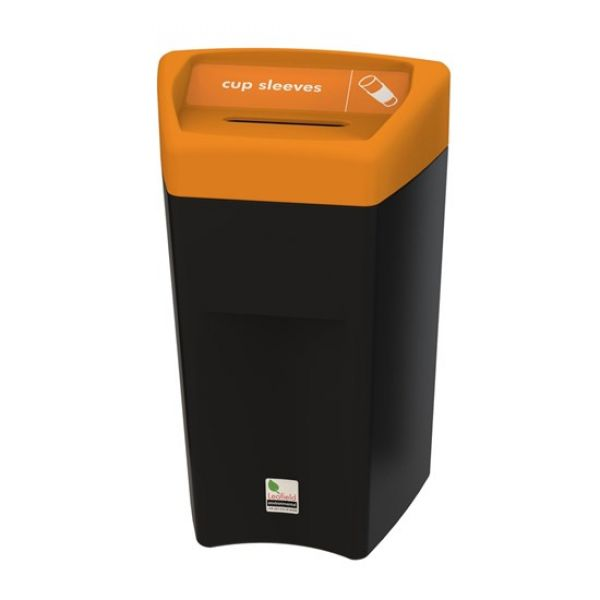 Enviropod Cup Lid & Sleeve Recycling Bin - 33 Litre Techni-Pros - techni-pros