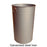 Hooded Top Litter Bin - 90 Litre Techni-Pros - techni-pros