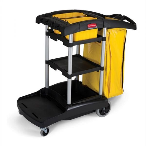 Rubbermaid High Capacity Cleaning Cart Techni-Pros - techni-pros