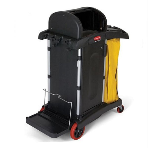Rubbermaid HYGEN High Security Cleaning Cart Techni-Pros - techni-pros