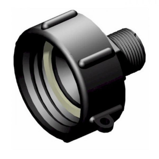 IBC S60x6 (2 inch) Female to 3/4 inch BSP Male Adaptor Techni-Pros - techni-pros