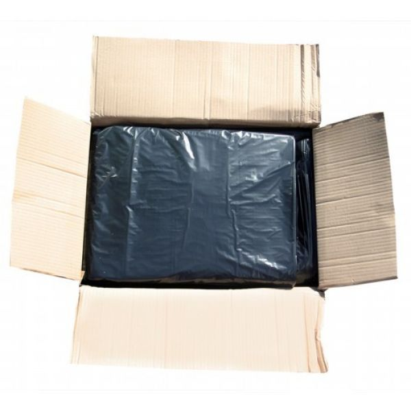 "Medium Duty Black Compactor Sacks 22"" x 33"" x 47""- 100 Liners Per Box Techni-Pros - techni-pros"