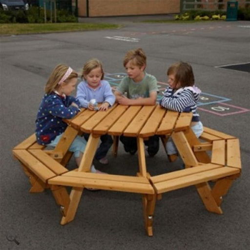 Infant Octagonal Picnic Bench Techni-Pros - techni-pros