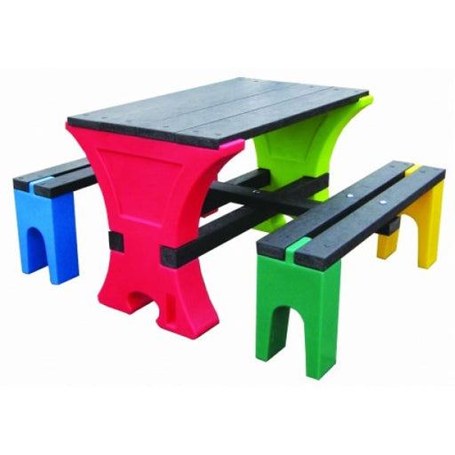 Junior 4 Seater Table & Bench Set Techni-Pros - techni-pros