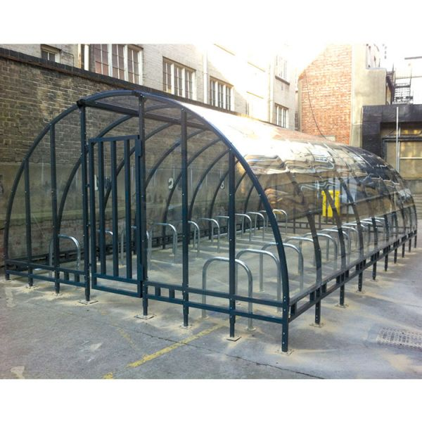 Kenilworth Cycle Compound Shelter Techni-Pros - techni-pros