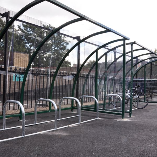 Kenilworth Bike Shelter Techni-Pros - techni-pros