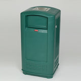 Rubbermaid Landmark Junior Litter Bin with Ashtray - 132 Litre Techni-Pros - techni-pros
