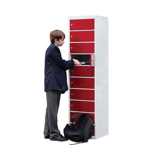 Laptop Storage Locker - 10 Tier Techni-Pros - techni-pros