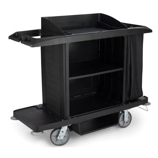 Rubbermaid Large Housekeeping Cart Techni-Pros - techni-pros