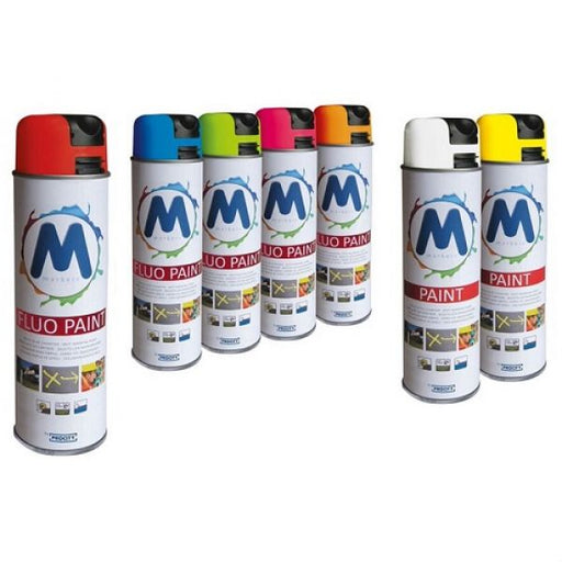 Spot Marking Paint - 12x 500ml Cans Techni-Pros - techni-pros