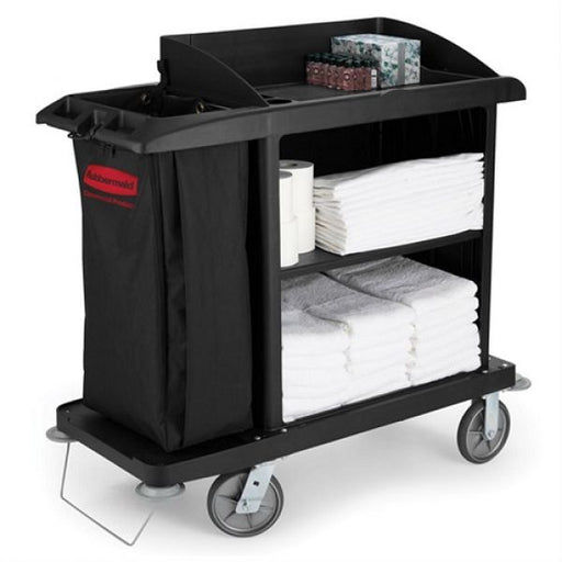 Rubbermaid Medium Housekeeping Cart Techni-Pros - techni-pros