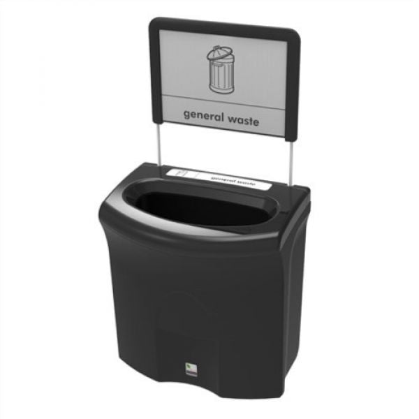 Mini Meridian Open Top Recycling Bin - 87 Litre Techni-Pros - techni-pros