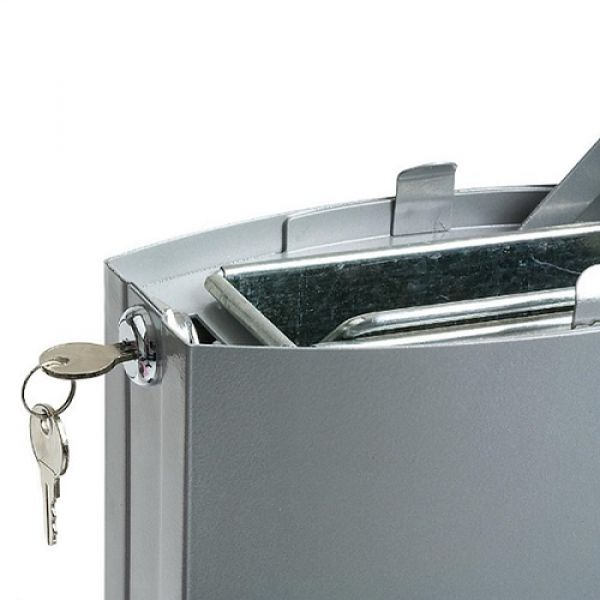 Rubbermaid Metropolitan Cigarette Disposal Bin Techni-Pros - techni-pros