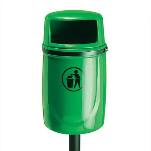 Osprey Post Mountable Litter Bin - 40 Litre Techni-Pros - techni-pros