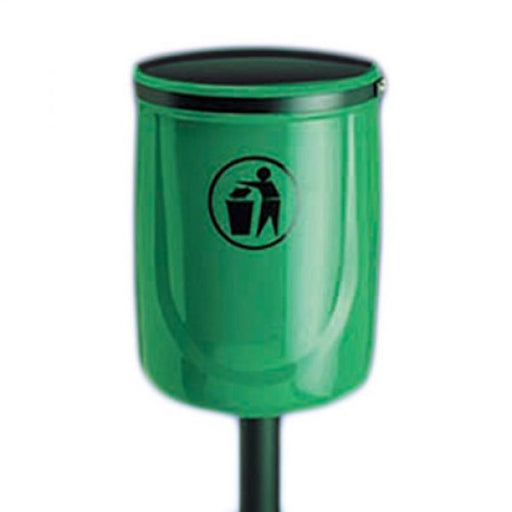 Osprey Open Top Post Mountable Litter Bin - 40 Litre Techni-Pros - techni-pros