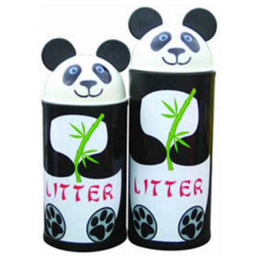 Animal Kingdom Panda Litter Bin Techni Pros