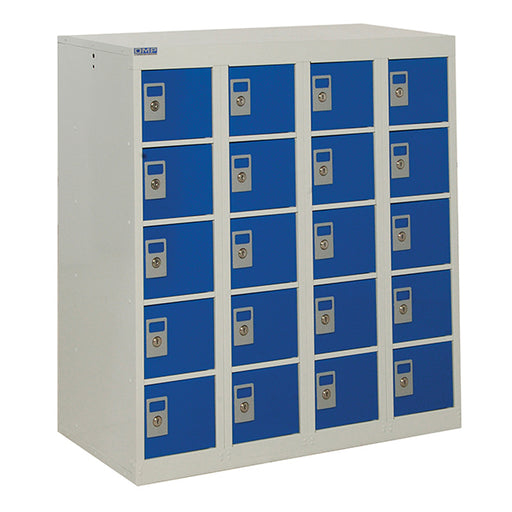 Personal Effects Lockers - 20 tier - 940 X 900mm Techni-Pros - techni-pros