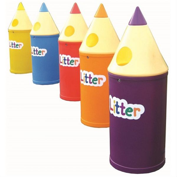 Micro Pencil Litter Bin - 42 Litre Techni-Pros - techni-pros