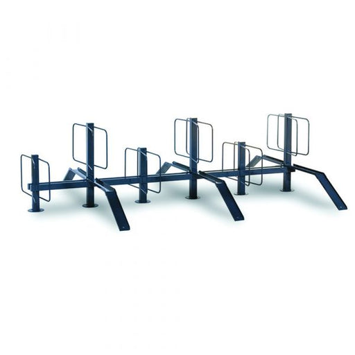 Pillar Cycle Rack - Double Sided Techni-Pros - techni-pros