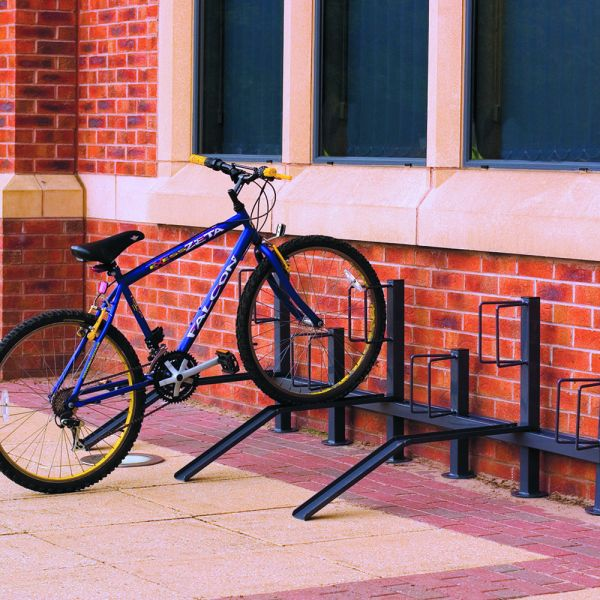 Pillar Cycle Rack - Single sided Techni-Pros - techni-pros