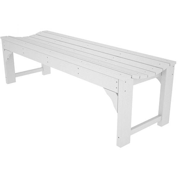 Poly-Wood Traditional Backless 1524 mm Garden Bench Techni-Pros - techni-pros