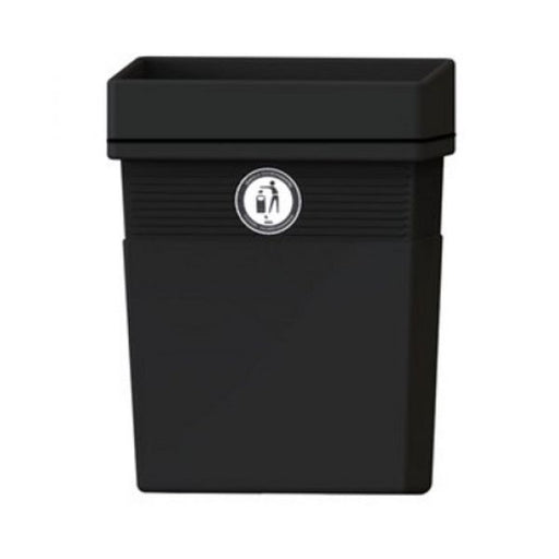 Regent Post or Wall Mountable Litter Bin - 30 Litre Techni-Pros - techni-pros