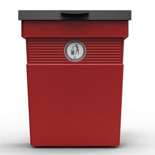 Regent Post or Wall Mountable Dog Waste Bin - 30 Litre Techni-Pros - techni-pros