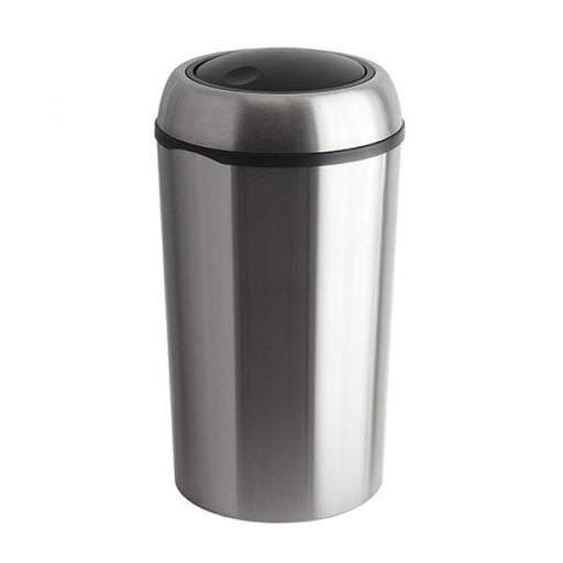 Round Stainless Steel Swing Bin - 75 litre Techni-Pros - techni-pros