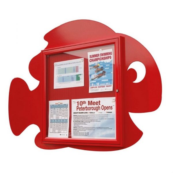 School Fun Fish Poster Case - 6x A4 Techni-Pros - techni-pros
