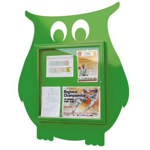 School Fun Owl Poster Case - 6x A4 Techni-Pros - techni-pros