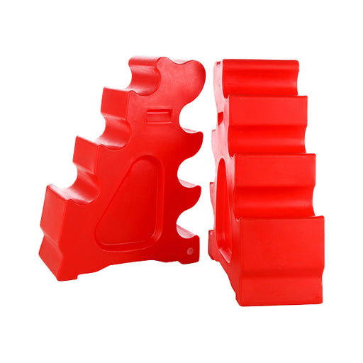 Sloping Jump Blocks - Pair Techni-Pros - techni-pros