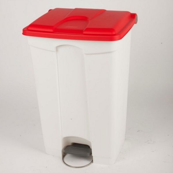 Plastic Pedal Operated Recycling Bin - 90 Litre Techni-Pros - techni-pros